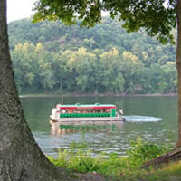 Bucks County Riverboat Company is operated out of Keller's Landing in historic Bucks County, Pennsylvania. The River Otter is our 52' coast guard certified pontoon boat fully equipped to provide a memorable excursion on the wild and scenic Delaware River. Our mission is to offer outstanding and unparalleled recreational, educational, and entertainment experiences for groups of all ages and purpose.