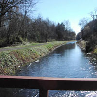 A walk along the 60-mile towpath of the Delaware Canal is a stroll into American History. The Delaware Canal is the only remaining continuously intact canal of the great towpath canal building era of the early and mid-19th century. Mule drawn canal boat rides and the Lock Tender/s House Visitor Center are at New Hope. A walk along the towpath is a stroll into American history. Paralleling the Delaware River between Easton and Bristol, this diverse park contains an historic canal and towpath, many miles of river shoreline and eleven river islands. From riverside to farm fields to historic towns, visitors to Delaware Canal State Park will enjoy the ever-changing scenery along its corridor.