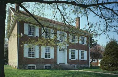 summerseat - home of George Clymer, a signer of the Declaration of Independence and the U.S. Constitution.