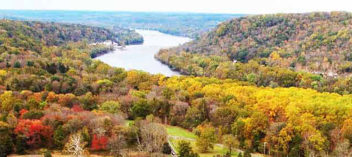 Fall is a wonderful time to enjoy shopping, dining, and the wonderful sights in Morrisville, Bucks County PA